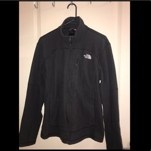 North Face Zip Up Size M